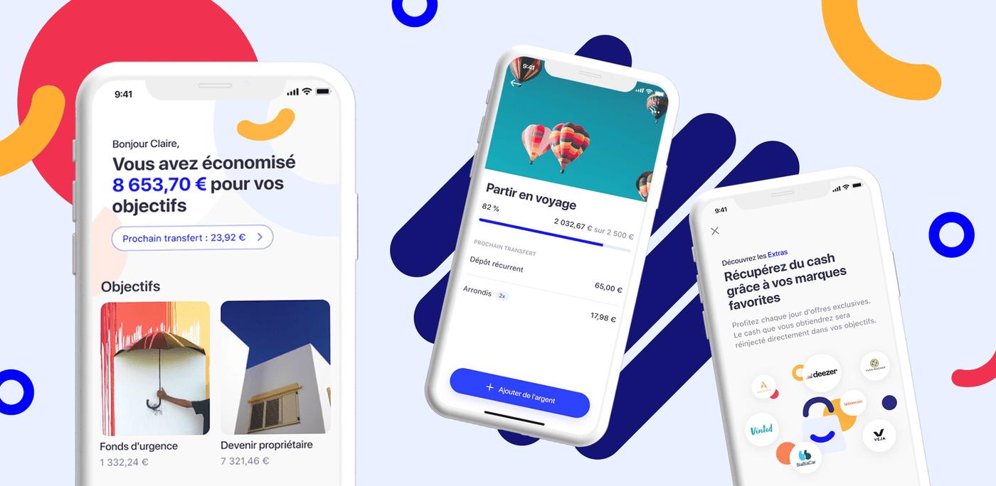 Mockup interface de l'application Moka