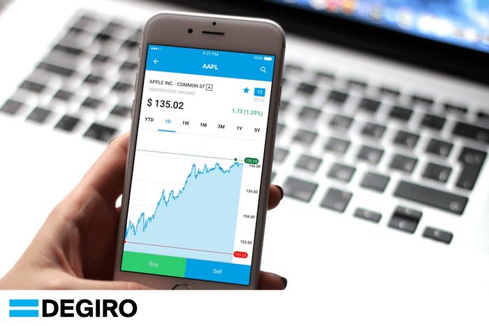 App mobile DEGIRO