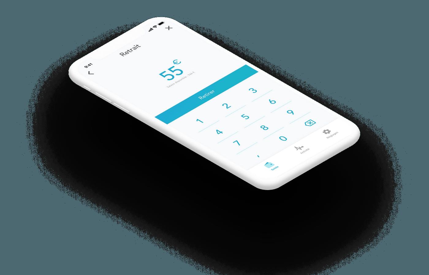 Packshot de l'application d'épargne Bruno