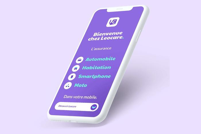 Mockup application Leocare