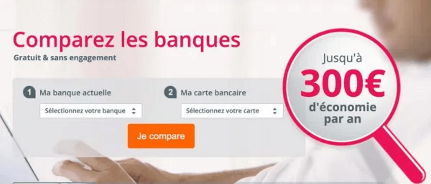 Screenshot application Panorabanques