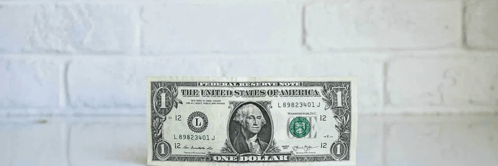Un billet de banque dollar