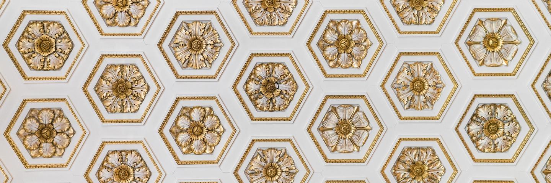 Un plafond en or