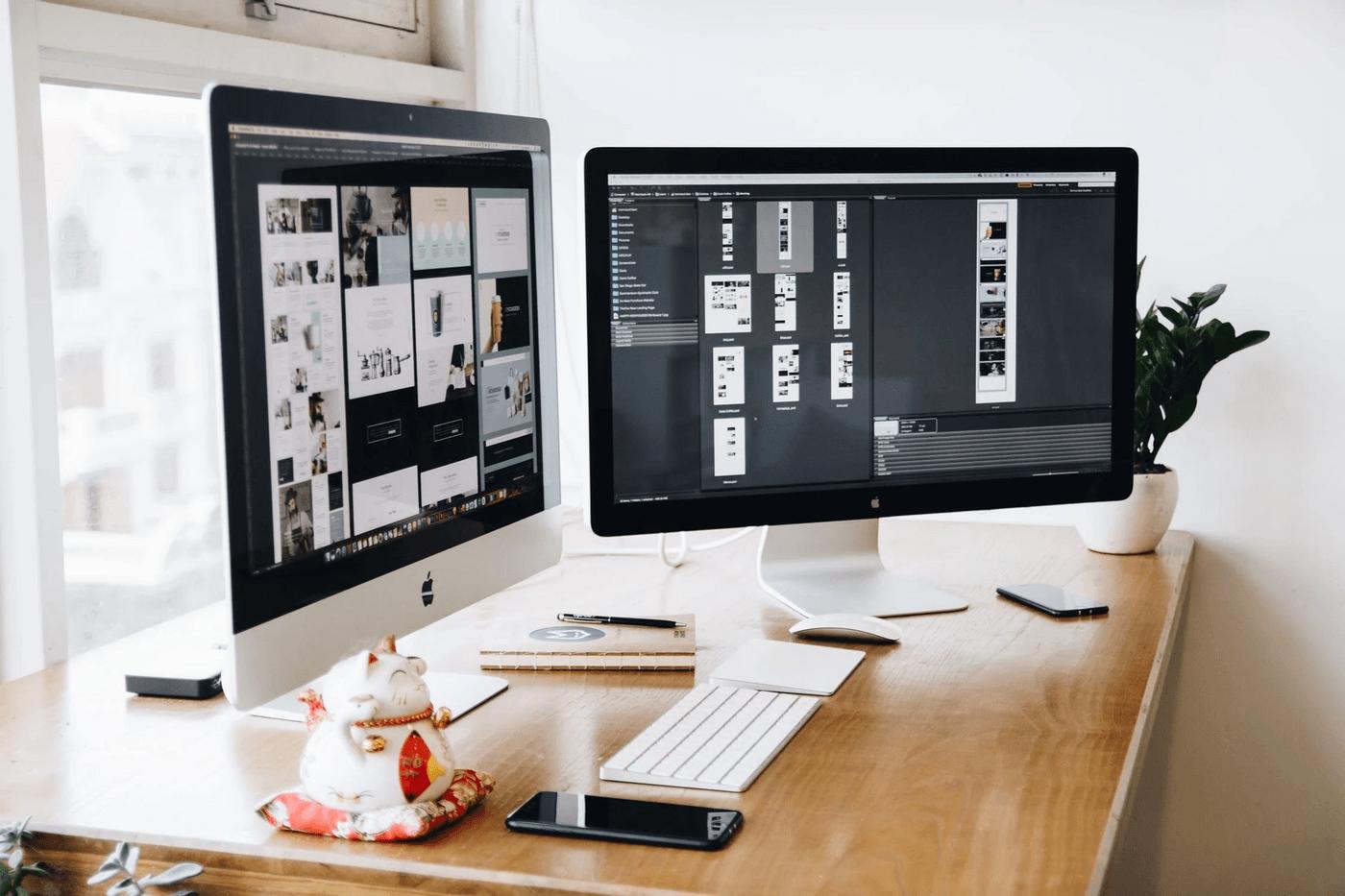 Un business en ligne de web design