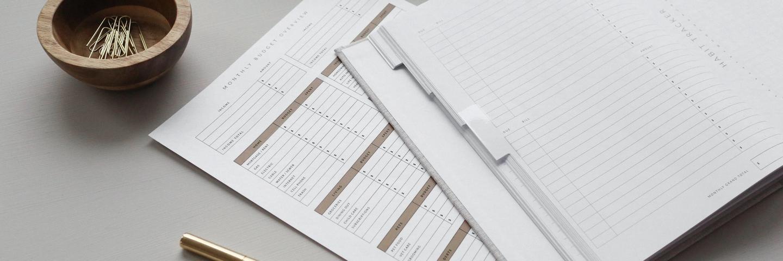 Gérer son budget version papier