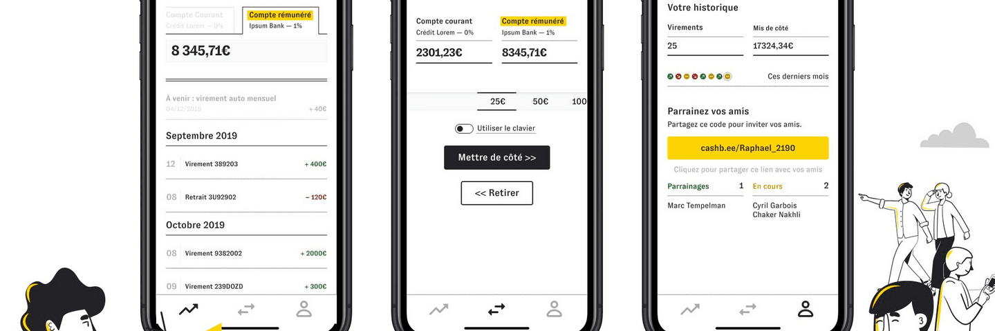 Cashbee avis interface application