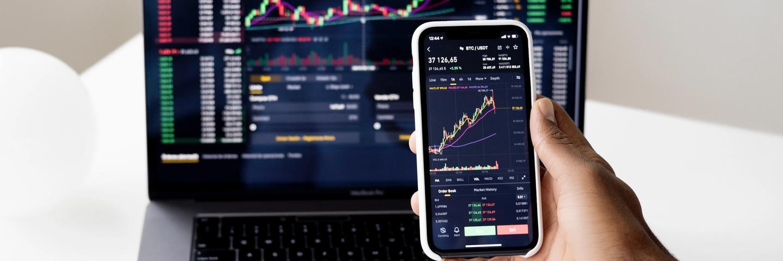Une application de bourse et d'investissement