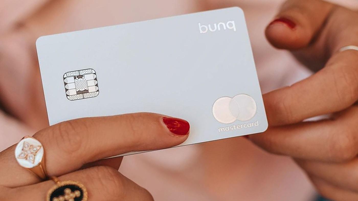 Photo carte metal banque Bunq