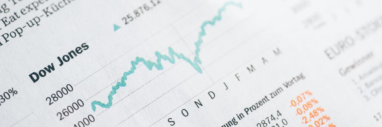 Courbe du Dow Jones