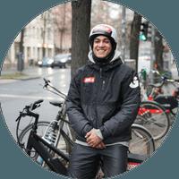 Testimonial from  Theo, Gorillas DE