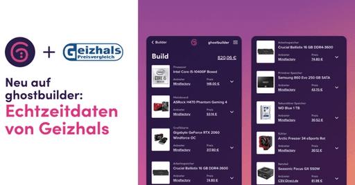 Ghostbuilder.io setzt auf Preisdaten von Geizhals