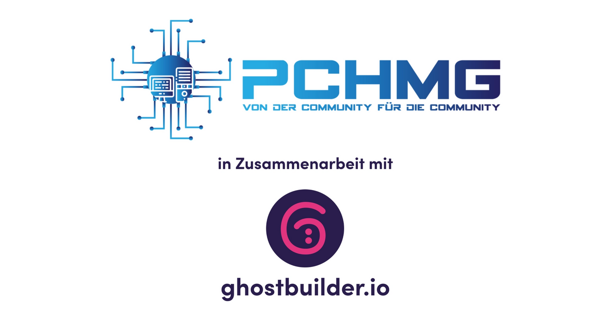 Das PCHMG und Ghostbuilder Logo