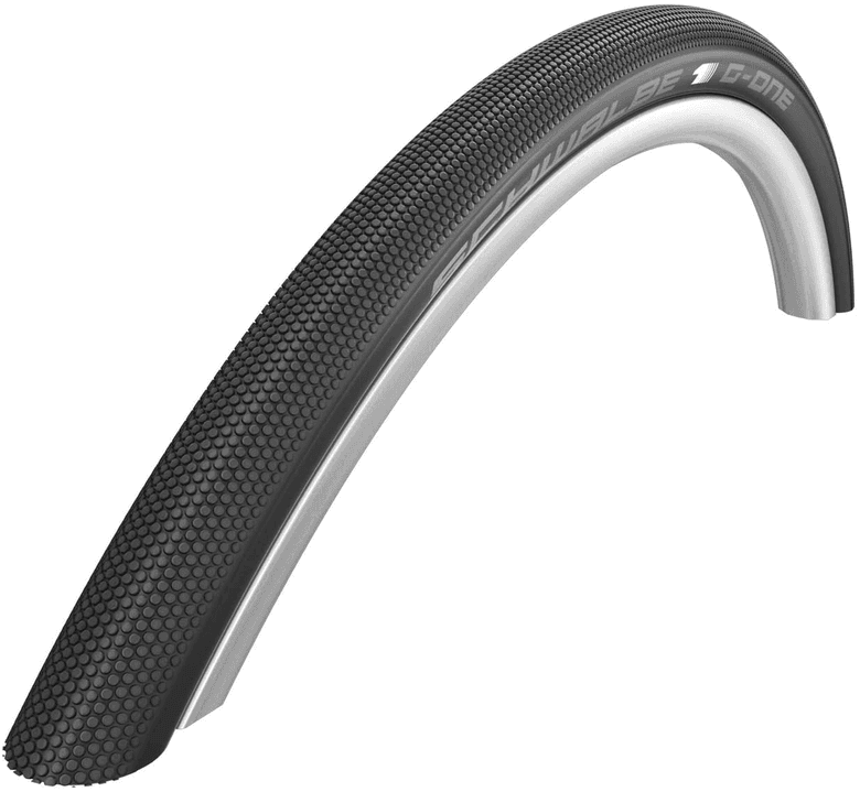 Schwalbe G-One speed tire in tubeless