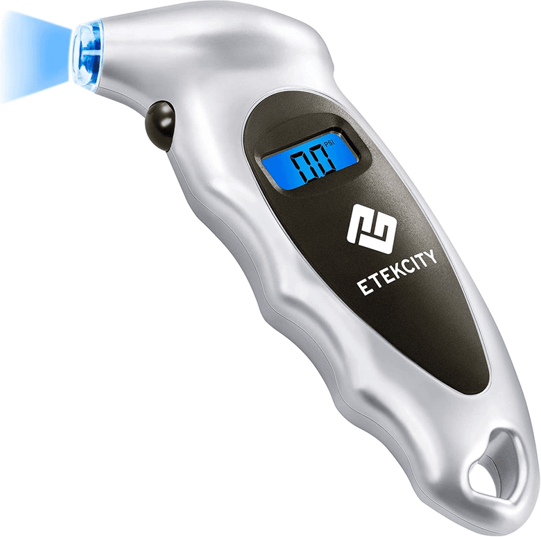 Etekcity Tire pressure gauge with digital readout
