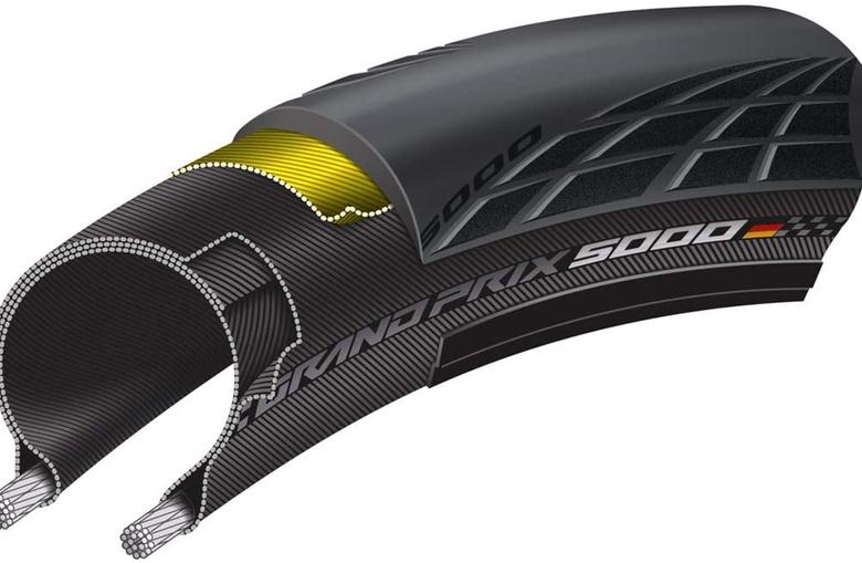 Continental Grand Prix 5000 road bike tire