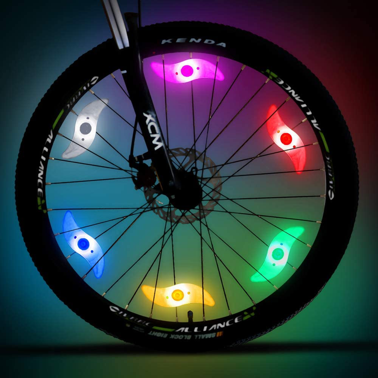 bike spoke lights from Macywell
