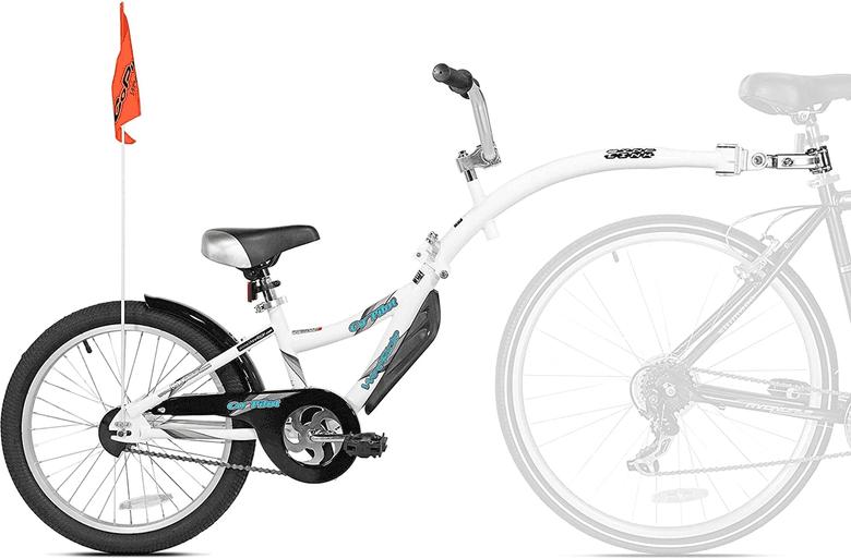 Kazam WeeRide Co-Pilo bike tandem attachment for kids