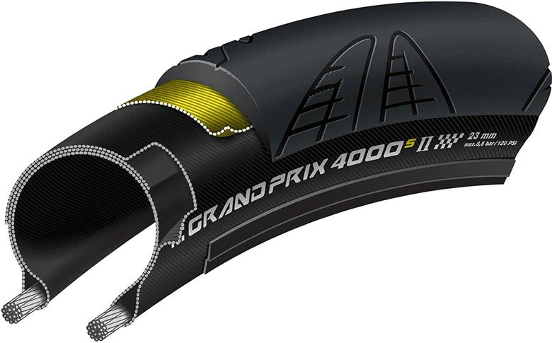 Continental GP 400 S2 road bike tire