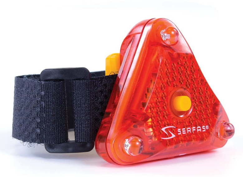 Helmet safety light from Serfas