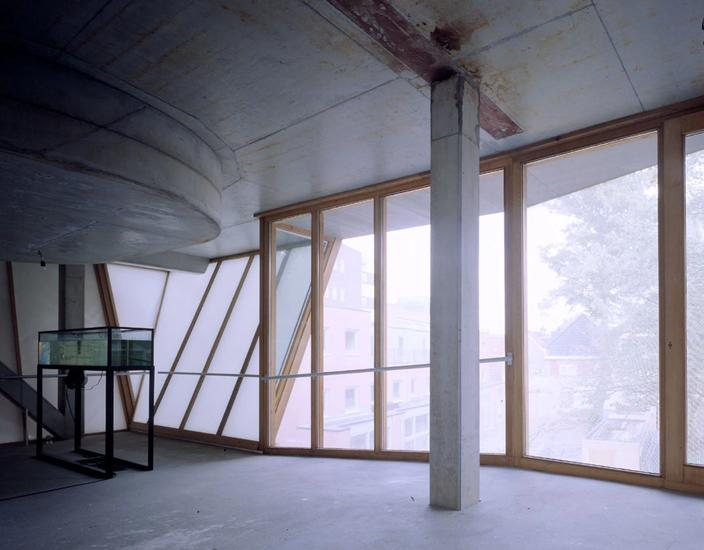 Photo from inside of the house's second floor