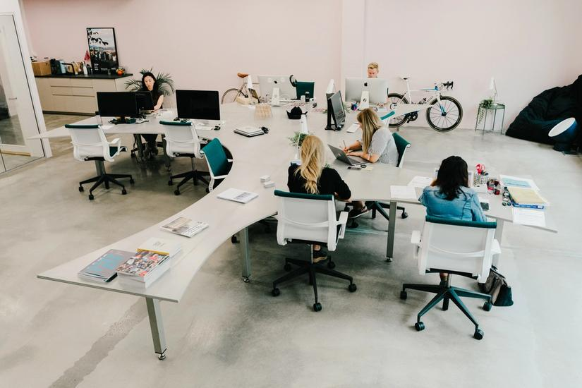 photo of design office table