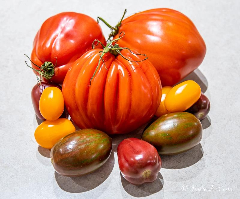 Finally found some decent tomatoes.