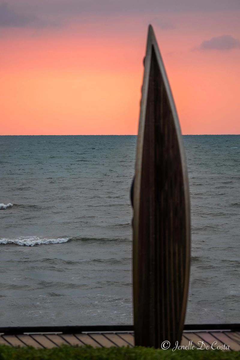 Beach Sculpture.