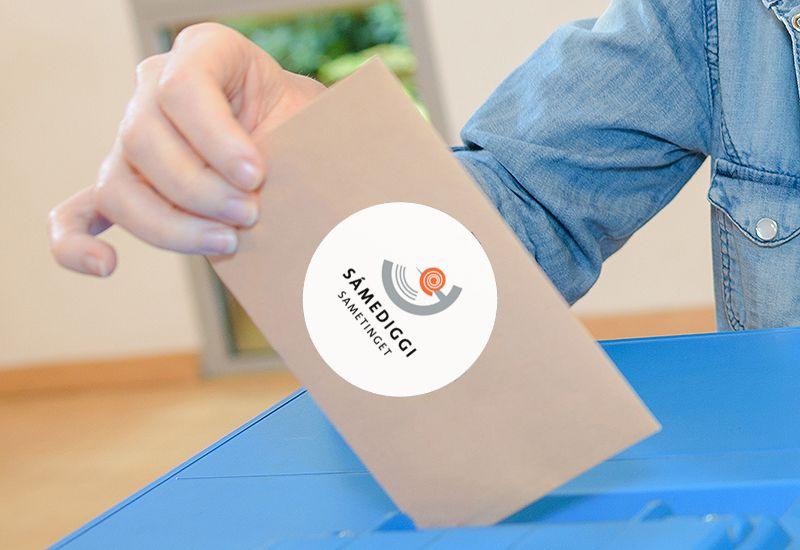 Sametingsvalg (colourbox.com)