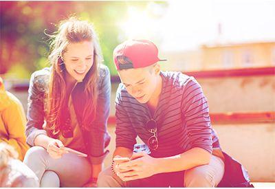 Gutt og jente (www.colourbox.com)