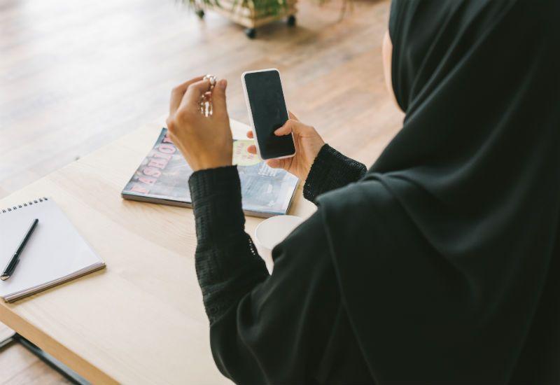 Muslimsk jente (colourbox.com)