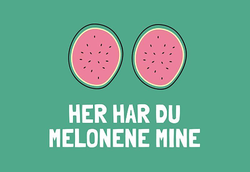 Her er melonene mine (#ikkegreit) ung.no