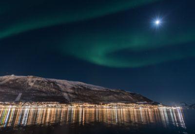 Nordlys over Tromsø by