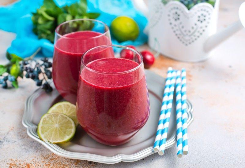 LETT: Hvis du har dårlig matlyst, kan det vært lurt å prøve å få i seg noe lett og godt som for eksempel en smoothie. Foto: Colourbox