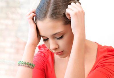 Trist jente (colourbox.com)