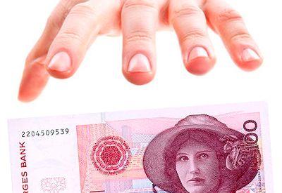 Stjele penger