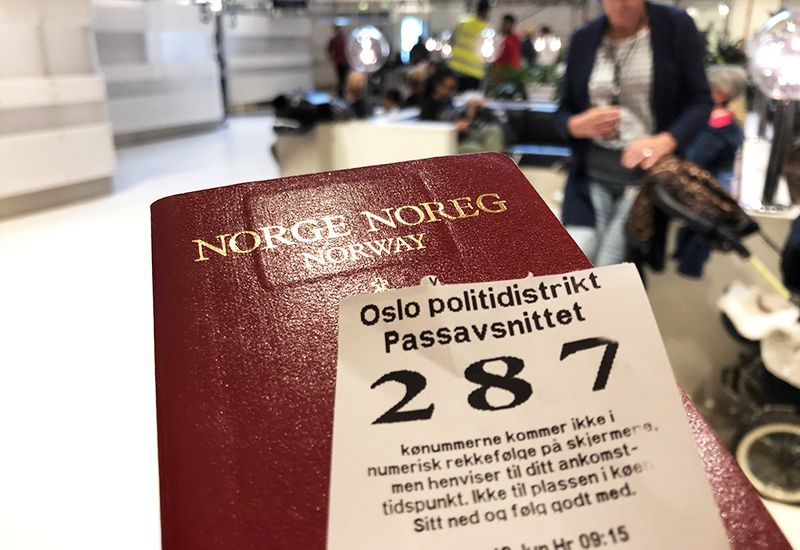 Norsk pass (foto: ung.no)
