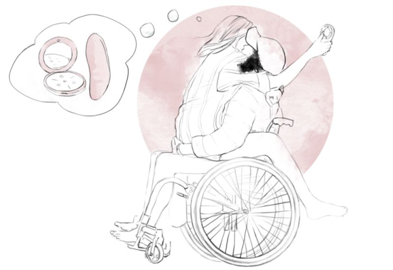ÅPEN: Jo mer åpen man er med partneren om hva man har behov for, desto nærmere kommer man hverandre. Illustrasjon: Unge Funksjonshemmede.