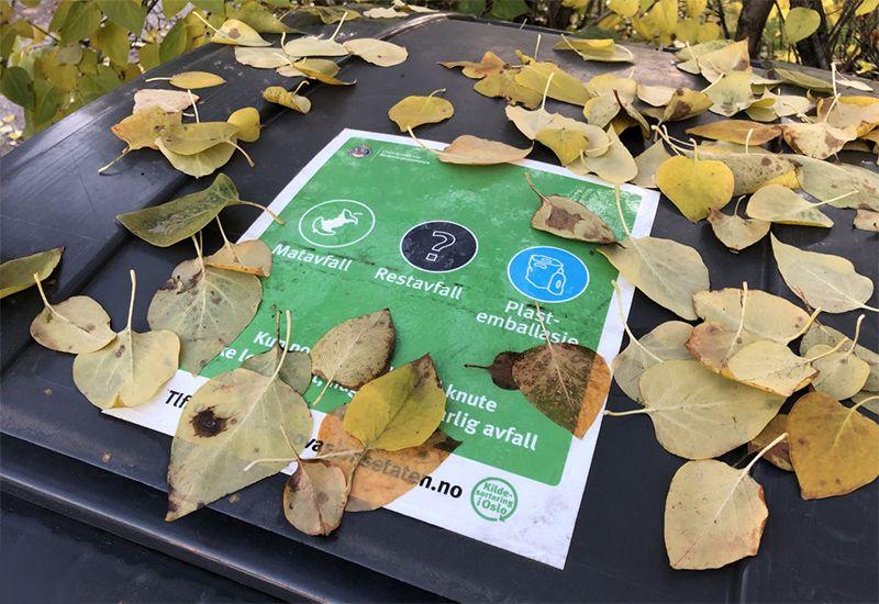 Kasser for resirkulering (foto: ung.no)