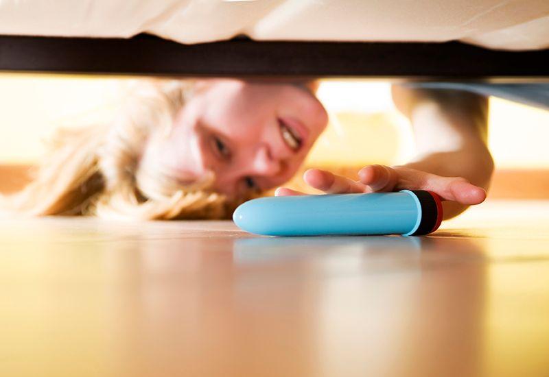 KOS: Husk at det er viktig å rengjøre et sexleketøy etter at du har brukt det. Foto: Colourbox
