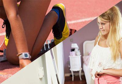 Jente klar i startblokka (colourbox.com)