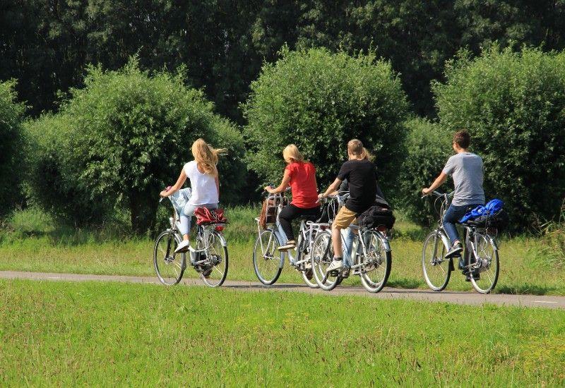 BEVEG DEG: Du kan for eksempel sykle dit du skal i stedet for å kjøre bil eller ta buss. Litt fysisk aktivitet hver dag er viktig for kroppen din.