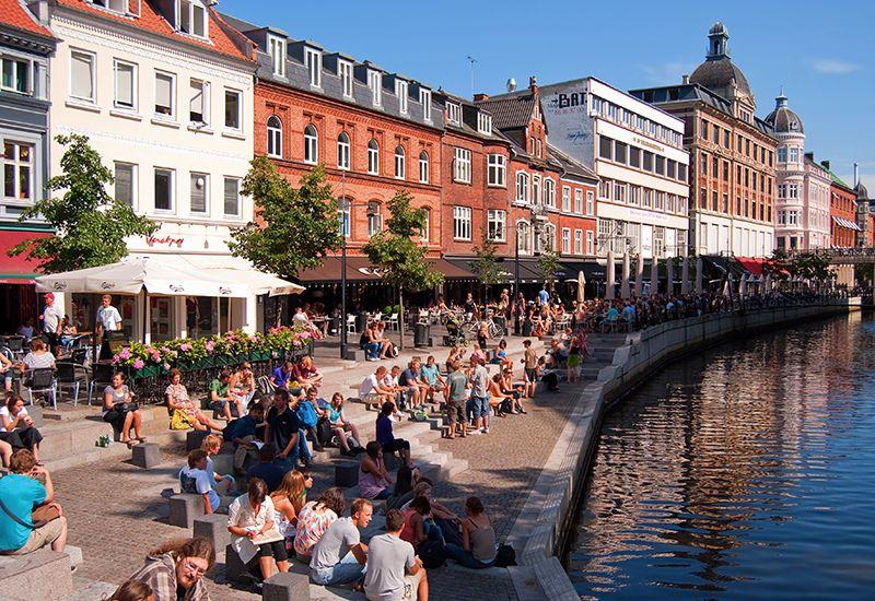 Bybilde fra Aarhus (colourbox.com)