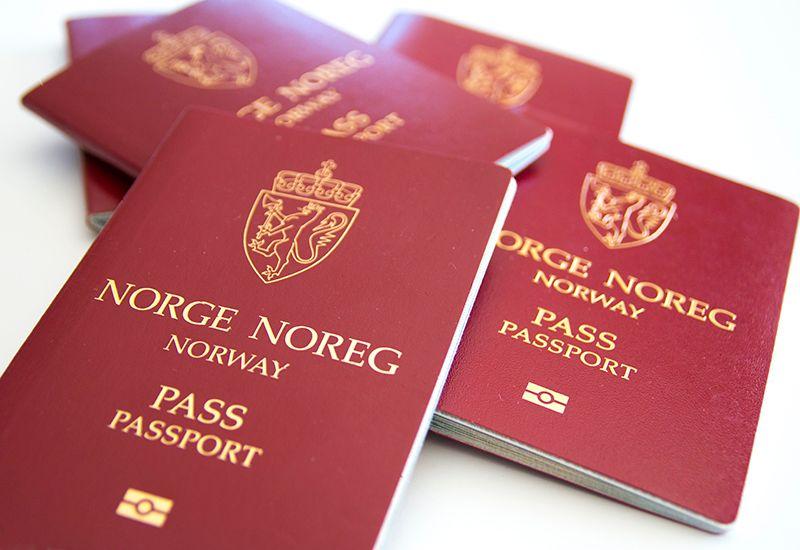Norsk pass (colourbox.com)