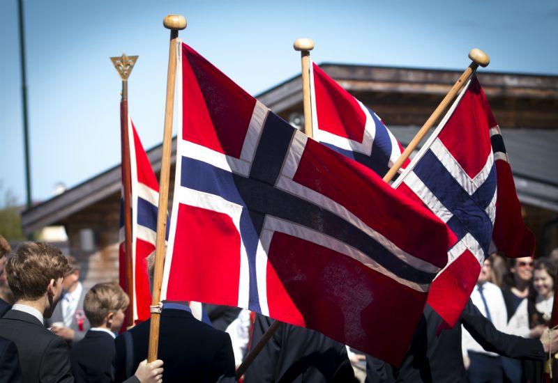 Norske flagg (Foto: Colourbox.com)