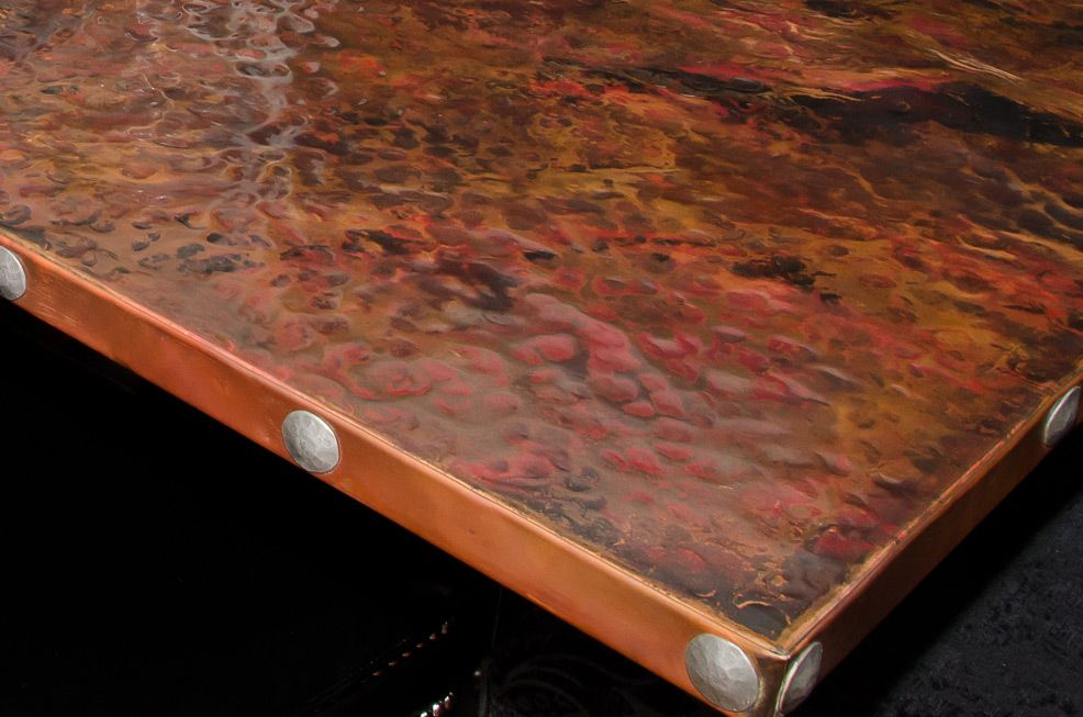 Custom Copper Table