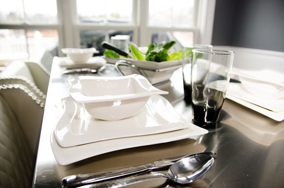 White Wave Tableware
