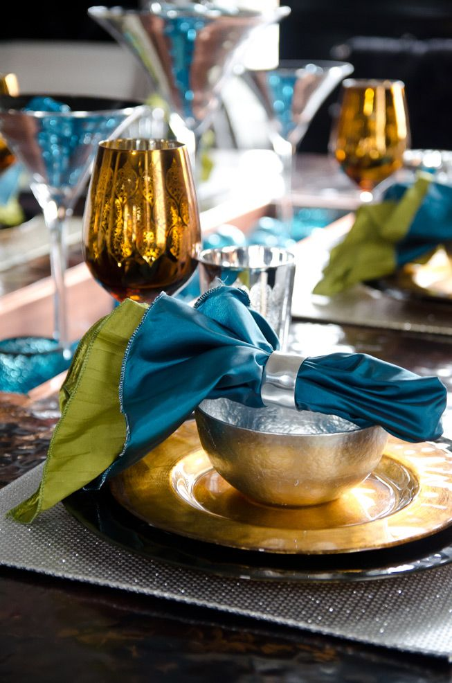 Metallic Tableware