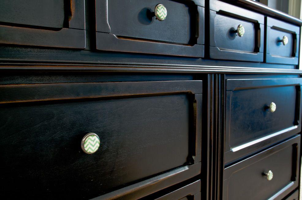 Custom Dresser Hardware