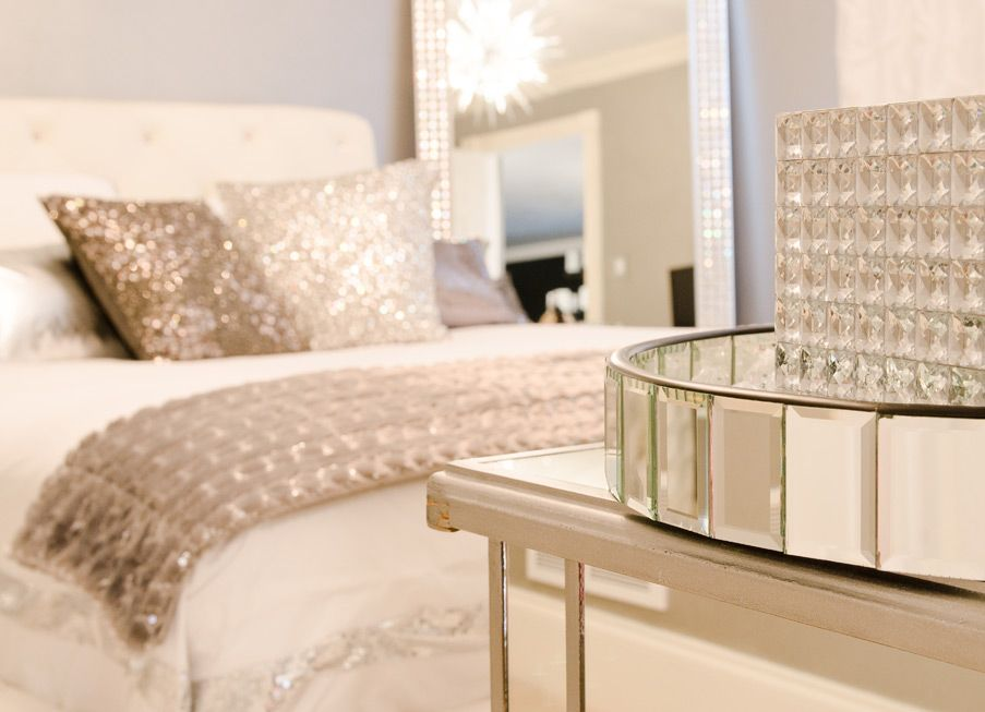 Modern Bling Bedroom