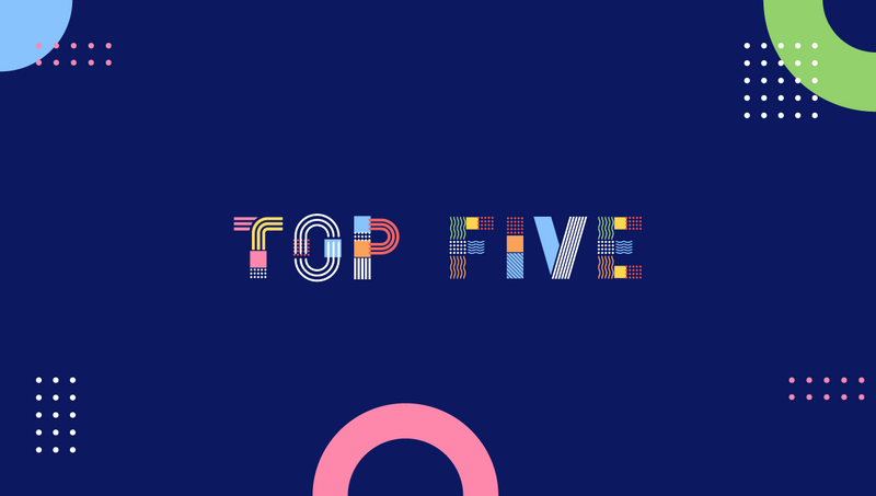 Top 5 web design trends 2020